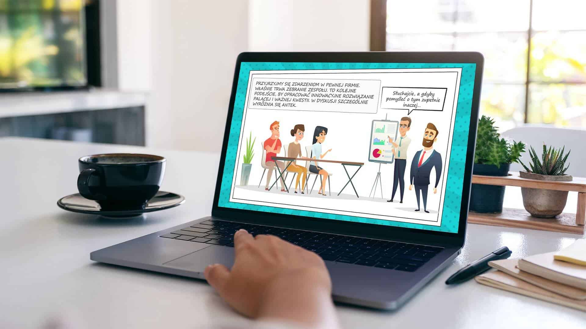 Proaktywność w pracy - nowe szkolenie na platformie e-learningowej Dolineo