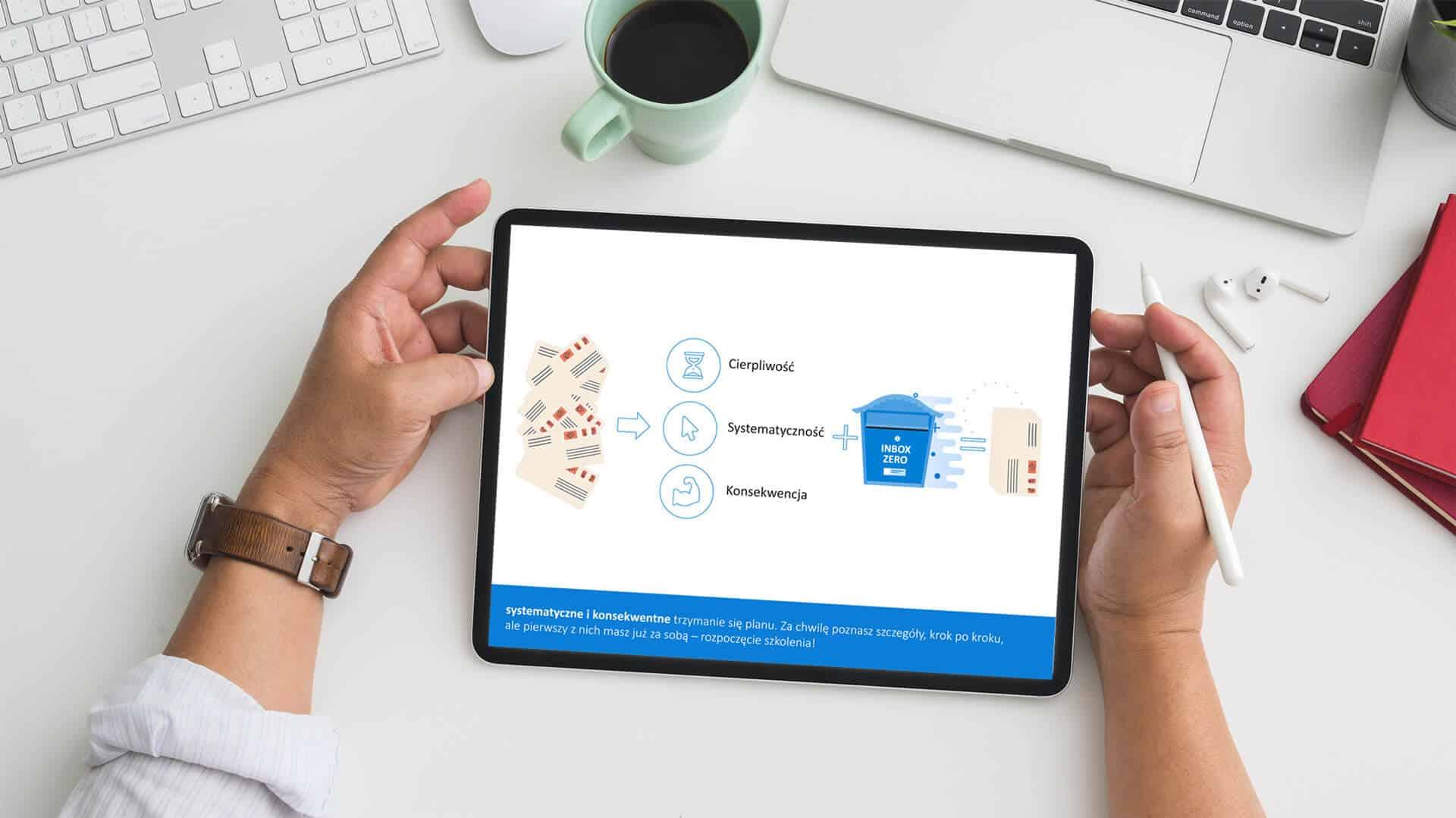 Dobre praktyki w pracy z mailami na przykładzie MS Outlook. Nowa animacja szkoleniowa na platformie Dolineo!